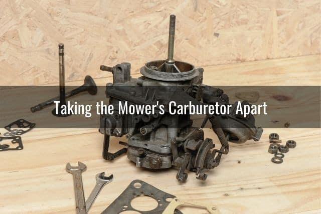 Taking the Mower's Carburetor Apart