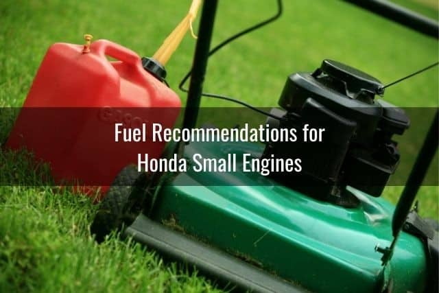 Fuel Recommendations for Honda Small Engines