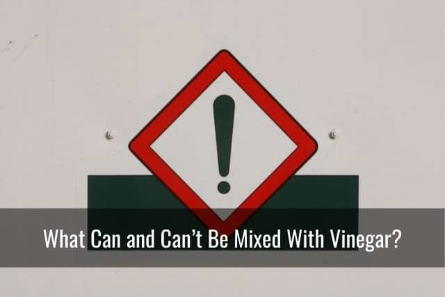 What Can and Can't Be Mixed With Vinegar?