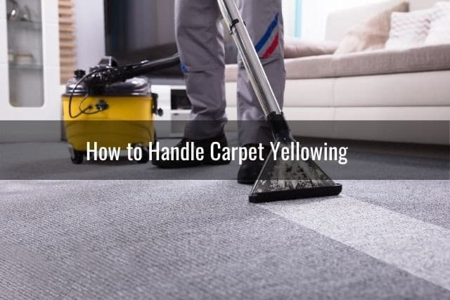 How to Handle Carpet Yellowing