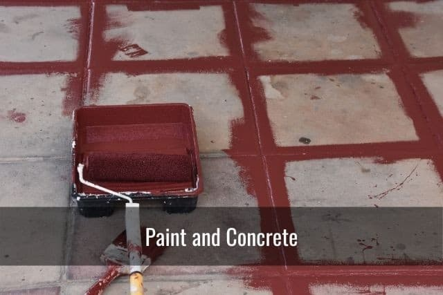 Paint and Concrete