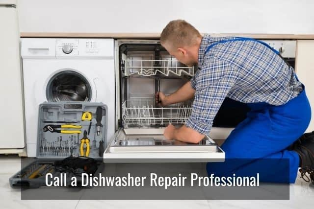 Tips to Keep in Mind When Troubleshooting Your Dishwasher