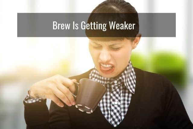 Brew Is Getting Weaker