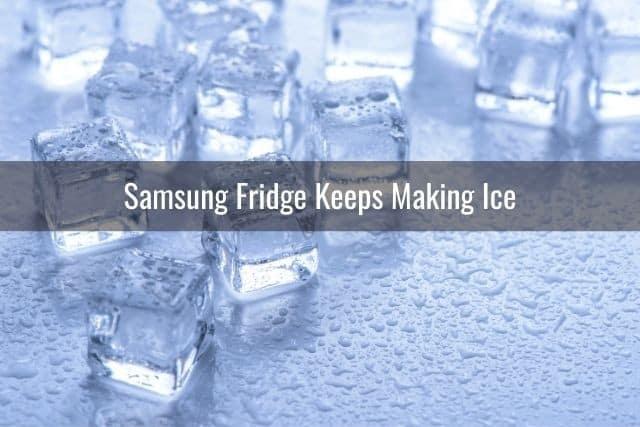 Samsung Fridge Keeps Making Ice