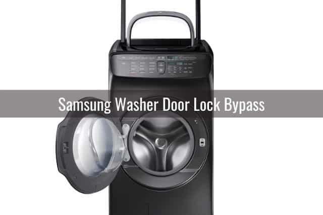 Samsung Washer Door Lock Bypass