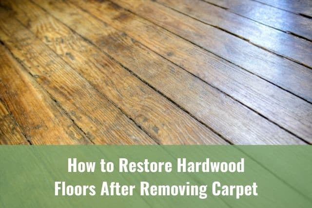 How To Re Hardwood Floors After