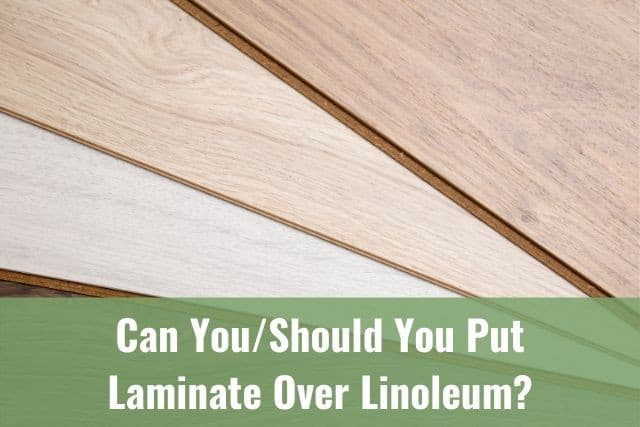 Put Laminate Over Linoleum, Can You Put Laminate Flooring Down Without Underlayment